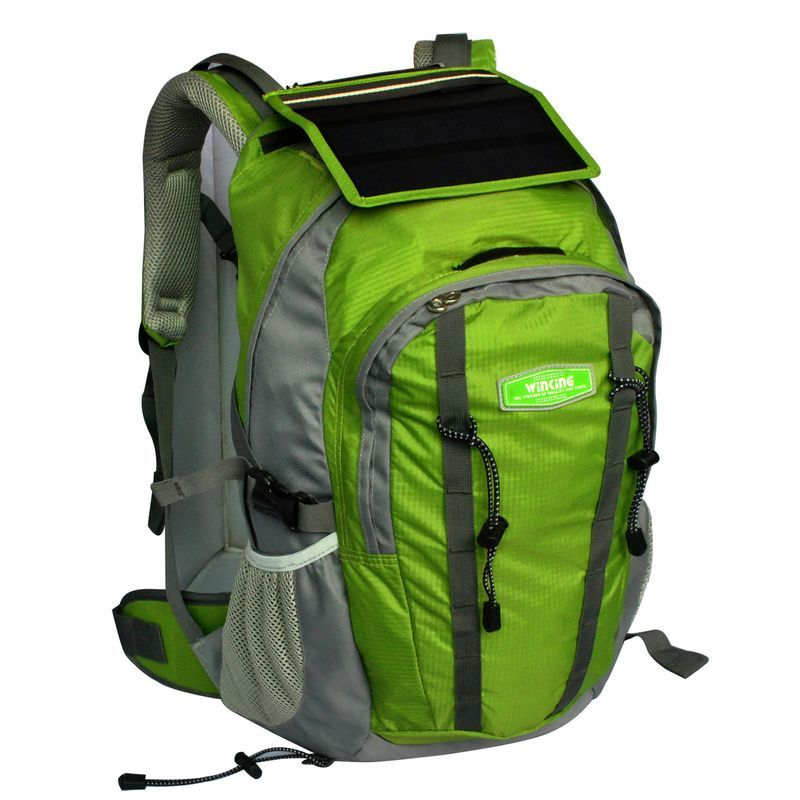 9f2b4612aa The Back Pack With Built In Solar Panel