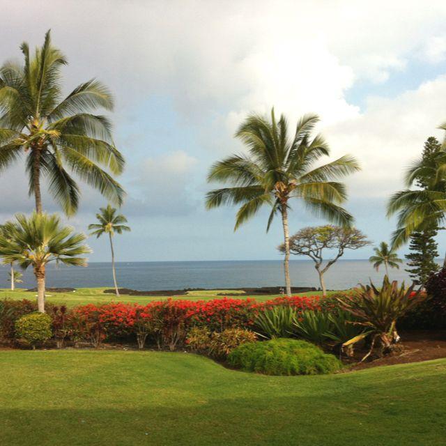 Kona, Hawaii in the morning. Breath taking