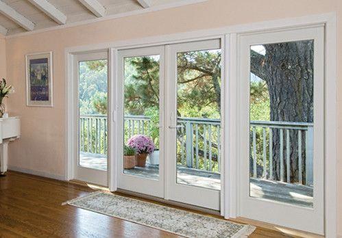 hinged french patio doors windows