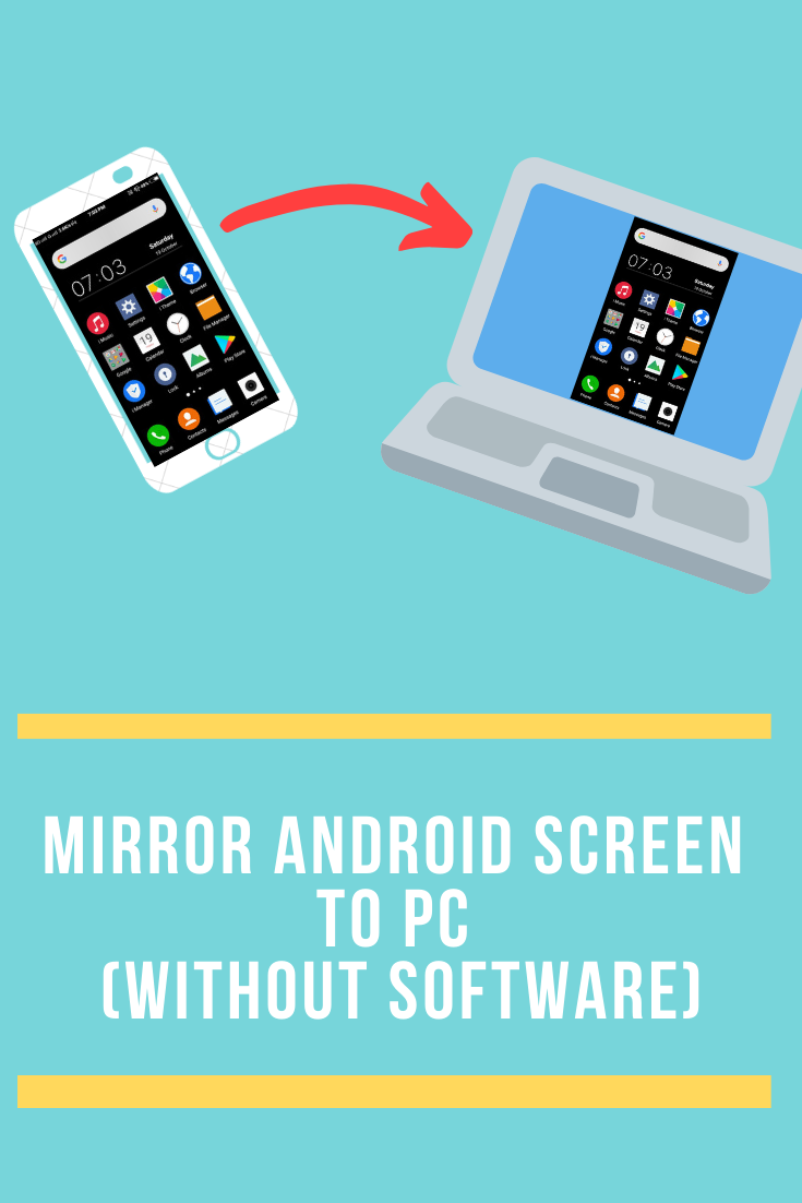 Mirror Android Screen to PC Android screen mirroring is a