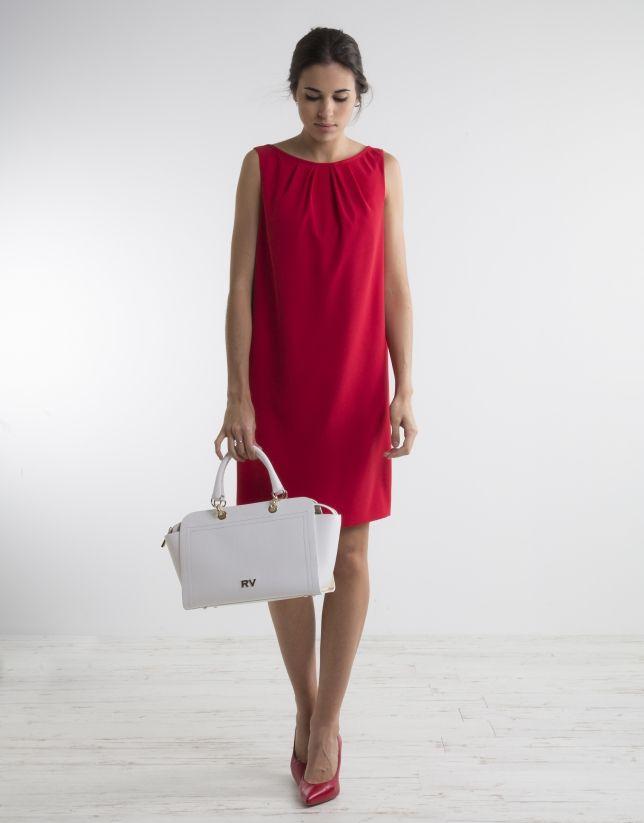 Vestido fluido rojo  2dd2dce3785d
