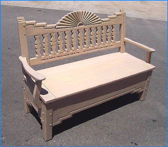 Aurora Storage Bench Light Adobe | Philippine Antiques | Pinterest | Storage  Benches, Bench And Southwestern Benches