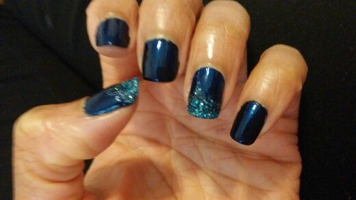 Night nail design