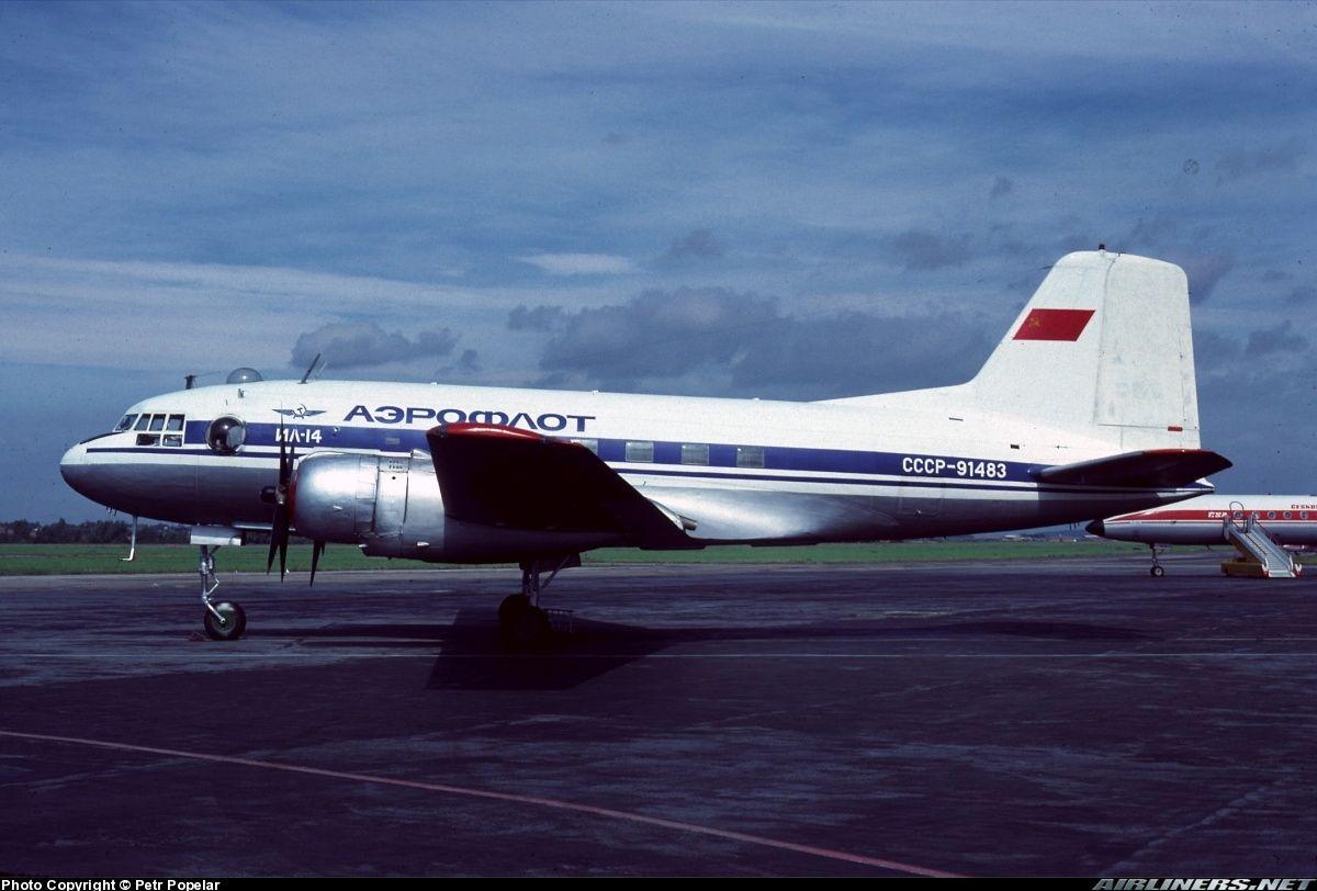Ilyushin Il 14 Aeroflot Aviation Photo 0813981
