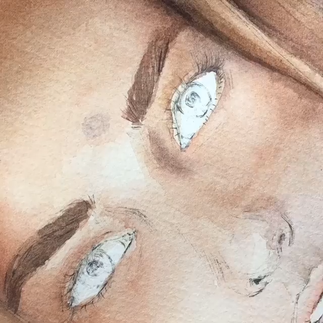 How To Paint A Portrait With Watercolors