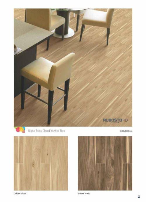 Millennium Tiles 600x600mm (24x24) Digital Matt GVT Ceramic...  Millennium Tiles 600x600mm (24x24) Digital Matt GVT Ceramic Tiles Series - Golden Wood https://goo.gl/rCxBbo - Smoke Wood https://goo.gl/fmLC9Q