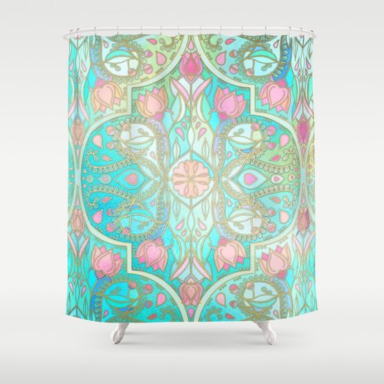 Floral Moroccan In Spring Pastels