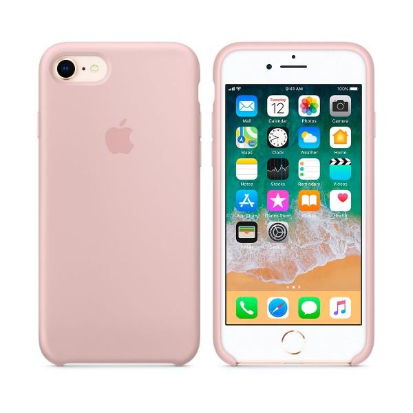 funda iphone naranja pastel