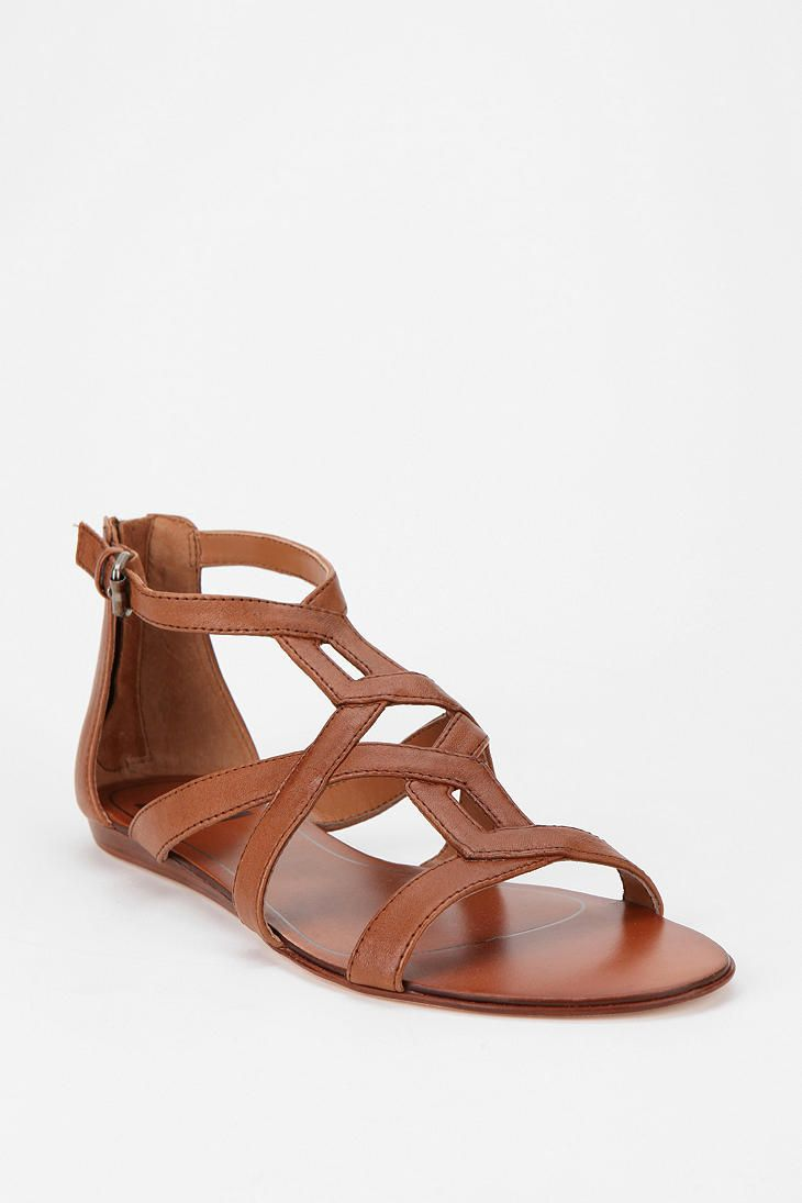Dolce Vita Bow Patent Leather Sandal | Leather sandals