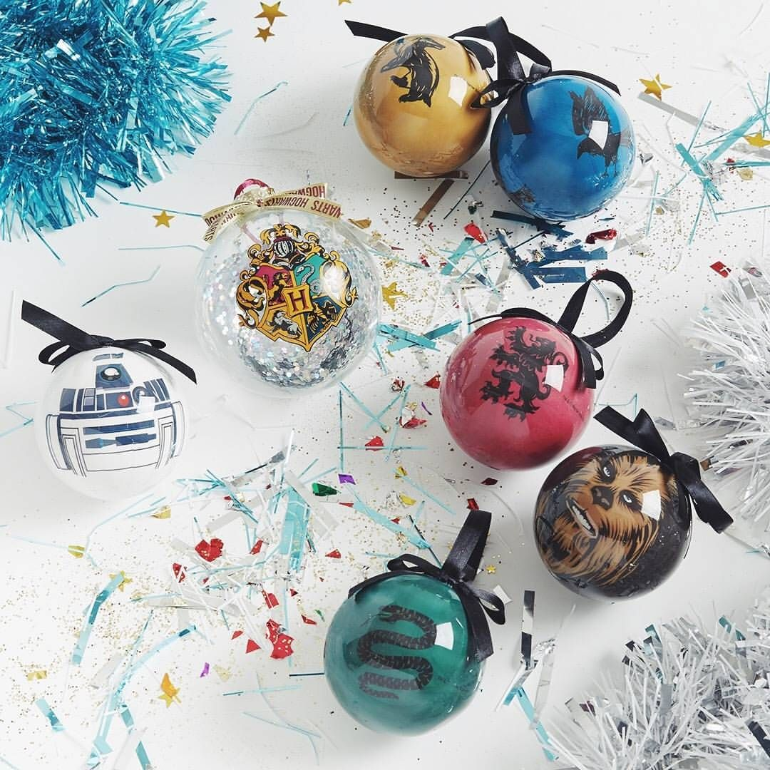 Star Wars And Harry Potter Christmas Baubles From Primark