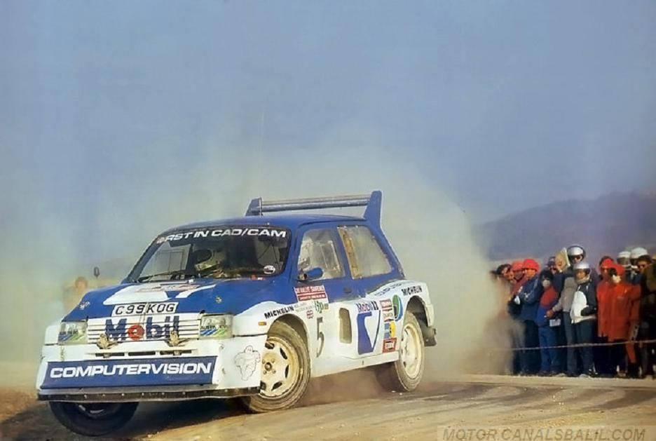 Malcolm Wilson Nigel Harris28º Rallye San Remo 1986. MG