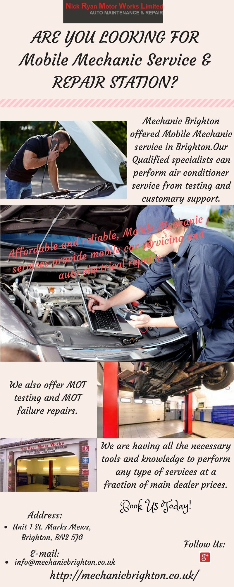 Find the best Mobile Mechanic Service near Bringhton at