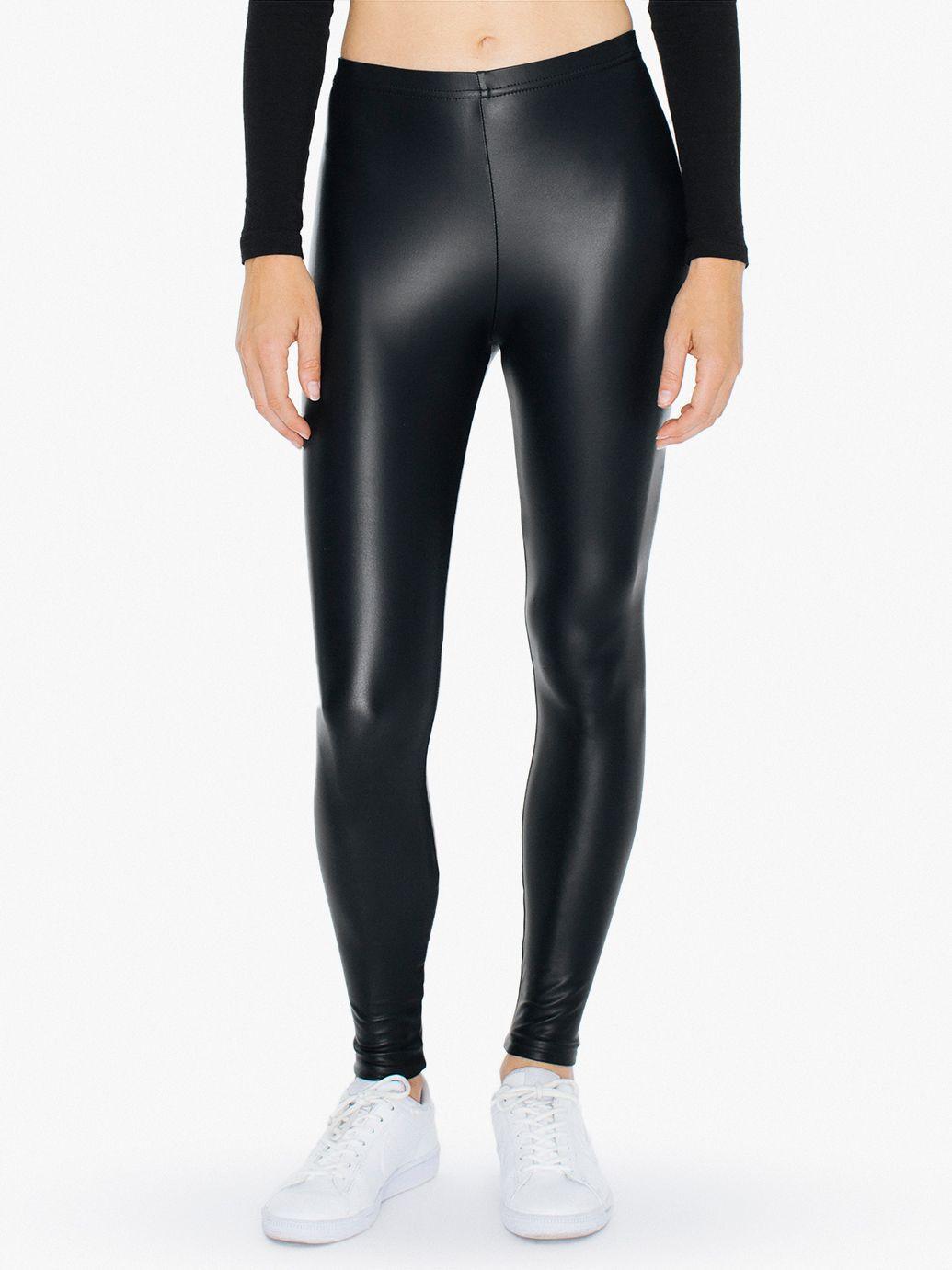 bf32b79d2ea9ac Metallic Legging   American Apparel   -WishList in 2019   Black ...