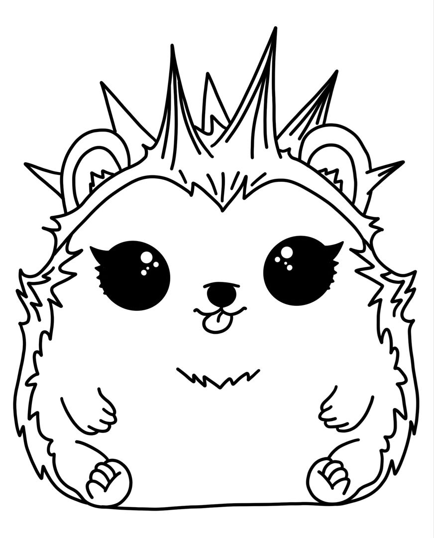 LOL pet hedgehog (With images) Horse coloring pages