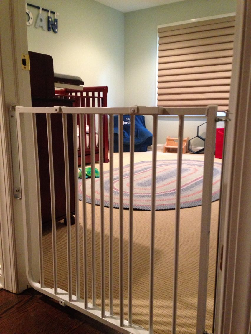 As Your Toddler Moves From A Crib To A Bed We Recommended A Secure Mounted Gate In The Door Frame Mounting This Way St Baby Gates Baby Proofing Big Girl Rooms