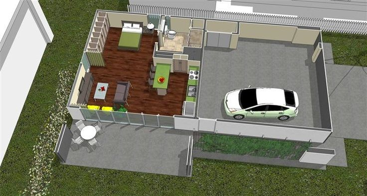 Mother In Law Suite Garage Small Spaces Pinterest Modern Style House Plans Mother In Law Cottage Inlaw Suite Plans