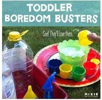 A great website of activities for Toddlers! Boredom Busters! ~ Vanessa    http://www.mixiestudio.com/2012/06/keeping-kids-busy-toddler-boredom.html