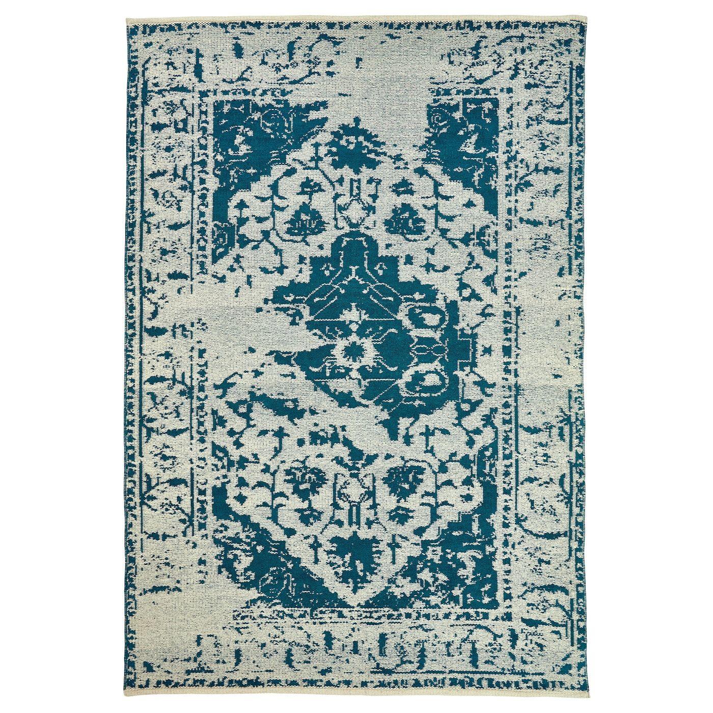 Fovsing Teppich Flach Gewebt Blau Beige Ikea Deutschland Teppich Flach Gewebt Teppich Teppich Günstig
