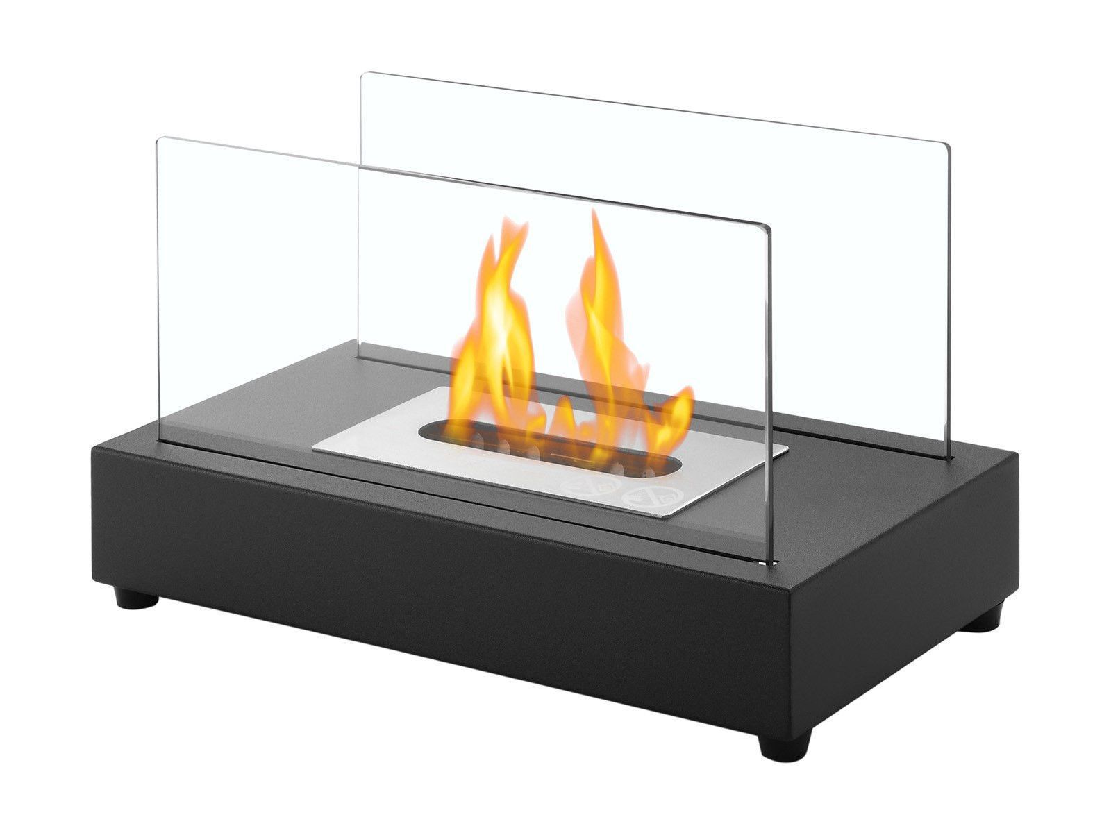 Ignis Tower Stainless Steel Table Top Ethanol Fireplace
