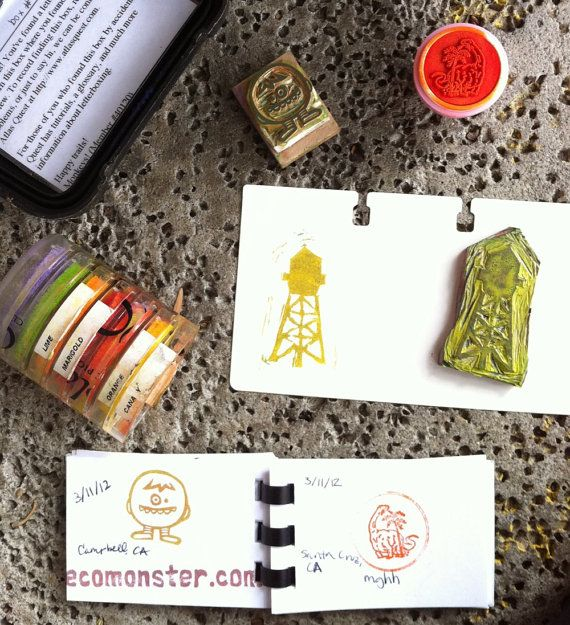 Letterboxing Adventure Kit by EcoMonster