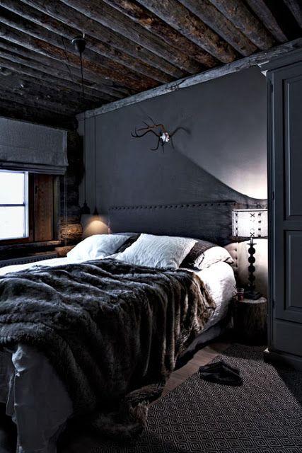 Un chalet en Laponie Bedrooms, Interiors and Bedroom closets