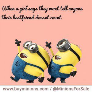 Minion Best Friend Quotes. QuotesGram | Friendship | Pinterest ...
