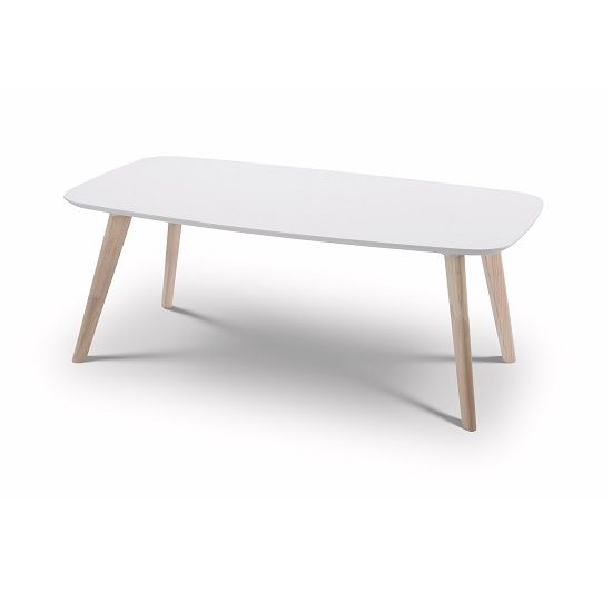 Marble Coffee Table Tesco: Bramley Coffee Table Rectangular In White And Limed Oak