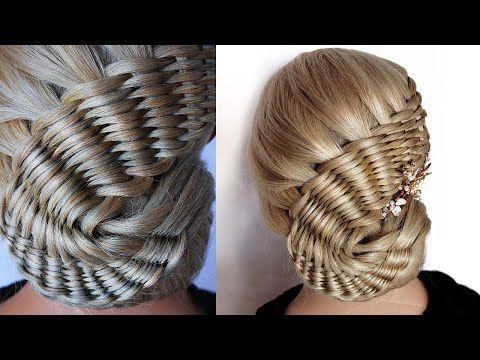 peinado 😱 Nueva BUN para la boda y el partido || tendencia peinado || partido peinado || peinado