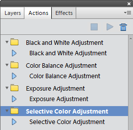 Adjustment Layer Actions for Elements 11(15 hits) - these will add B, Exposure, Color Balance & Selective Color adjustment layers to Elements 11