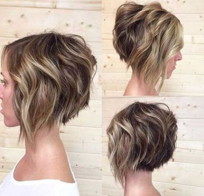 Stacked Bob Hairstyles 15 Stacked Bob Haircuts  Short  How To Cut My Hair  Pinterest