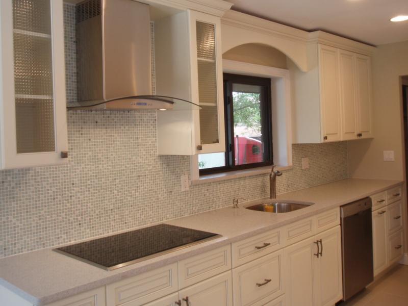 Silestone Stellar Snow Quartz Kitchen Countertop Sample