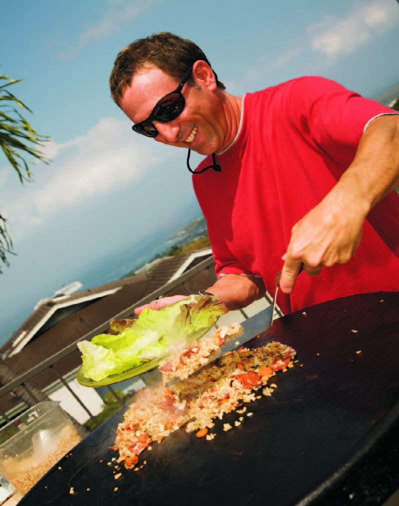 Producer Host Barry Cutty Cutler On The Set Of His Nationally Syndicated Children S Show Cookin With Cutty Cooks Up Break Outdoor Store Outdoor Cooktop