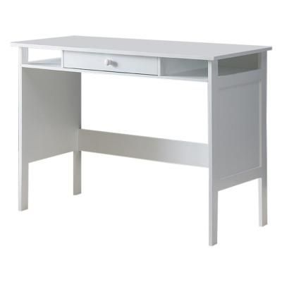 Signature Home Stan White Wood Home and Office Writing Desk 542OH - The Home Depot - #542oh #depot #office #signature #White #writing - #officedepotdesks