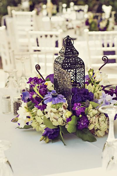 idees centre de table mariage oriental lanterne marocaine. Black Bedroom Furniture Sets. Home Design Ideas