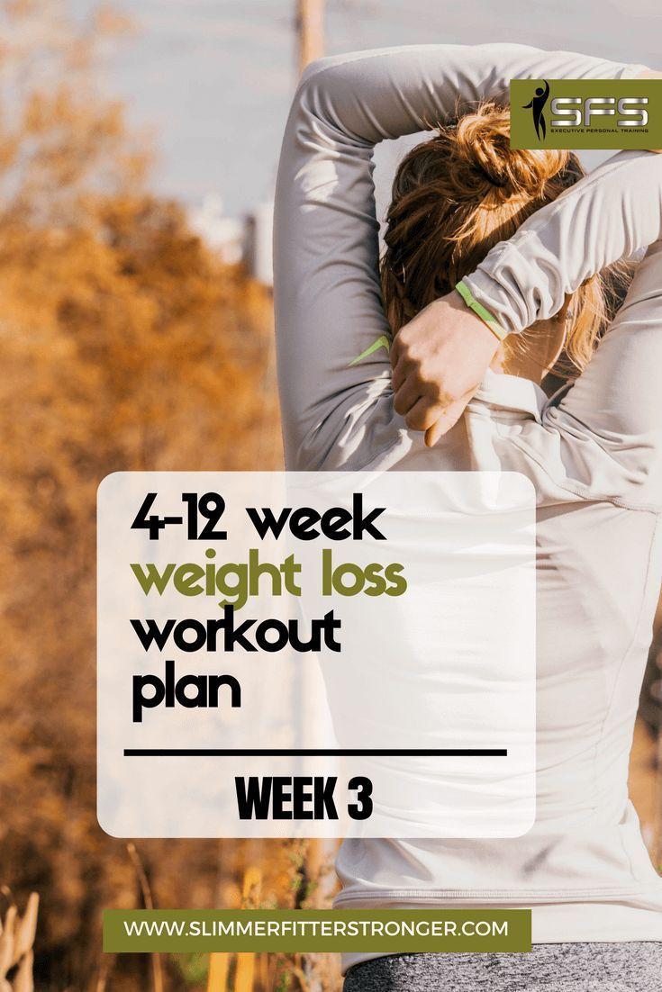 Week Weight Loss Workout Plan  Health u Fitness  Pinterest