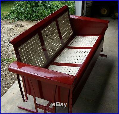 Old Glider Swing Vintage Porch