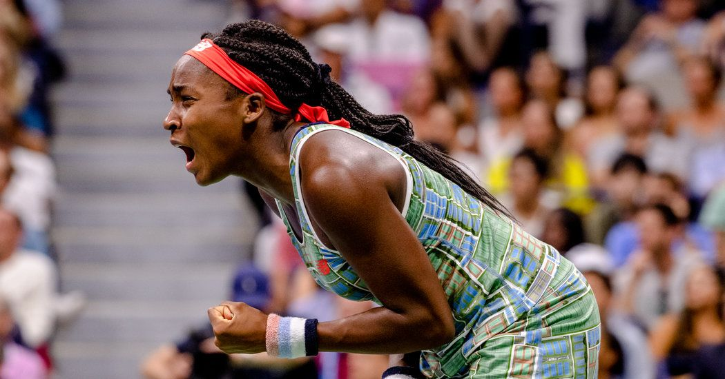 A Big Step By Coco Gauff Huge Leaps For A Tennis Youth Movement Alexander Zverev Sport Event Roger Federer