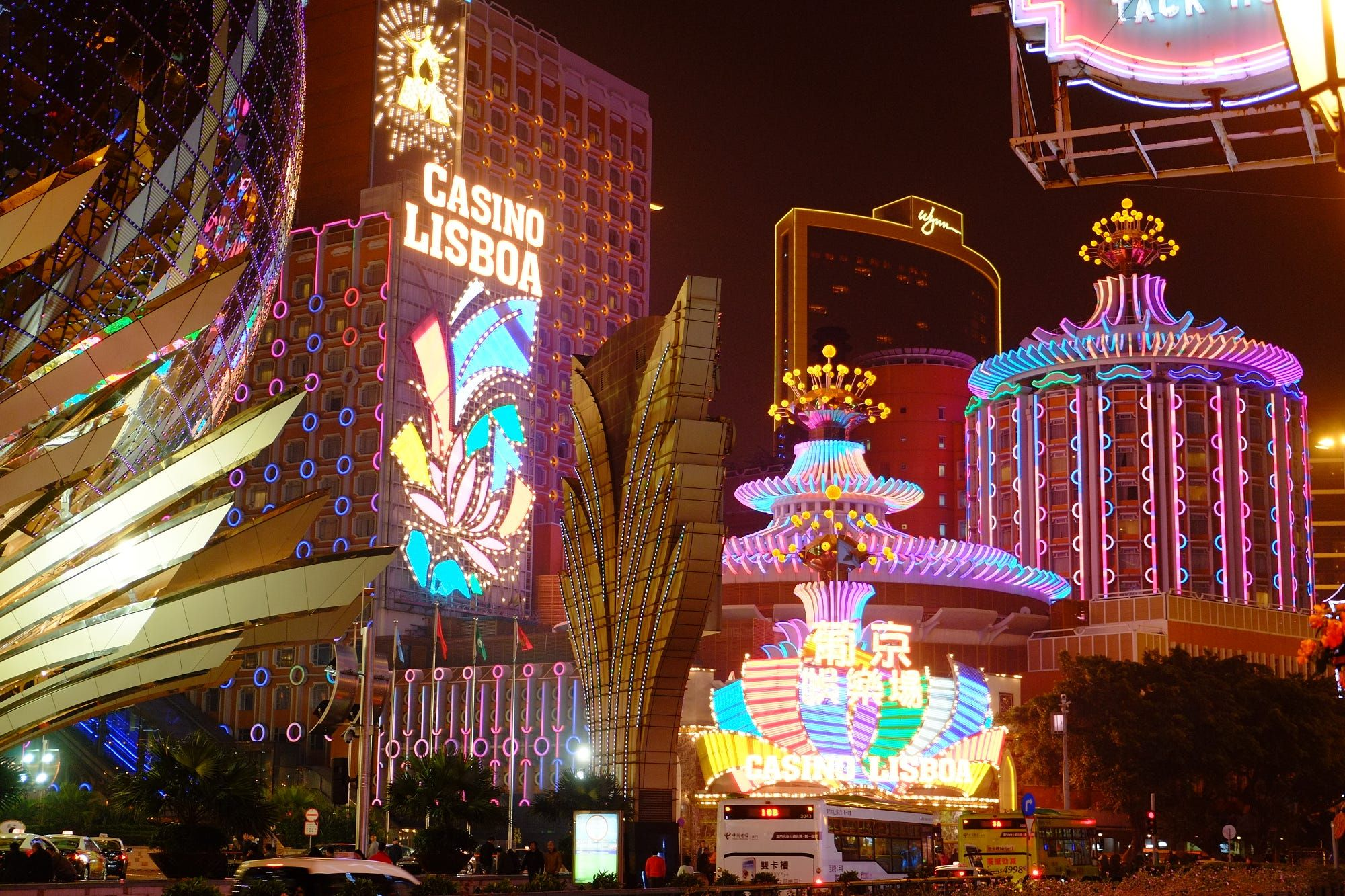 Macau underwater casino act enforcement gambling internet prohibition