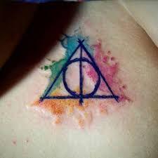 Resultado De Imagen Para Tatuaje Varita De Sauco Harry Potter Tattoos Tattoos Harry Potter Tattoo