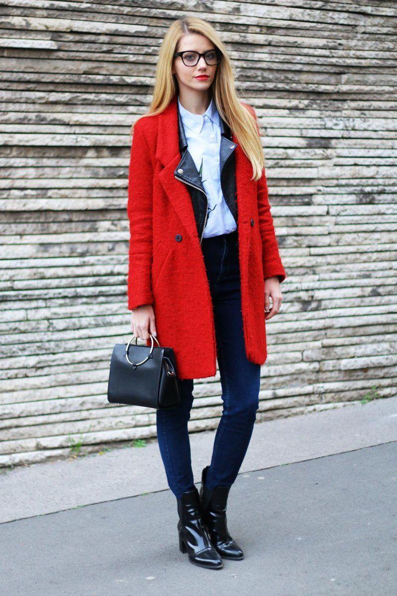 Coat – Zara / Jeans – H&M / Shirt – Shein / Bag, Jacket, Boots – Zara / Glasses – Sun & Eye.