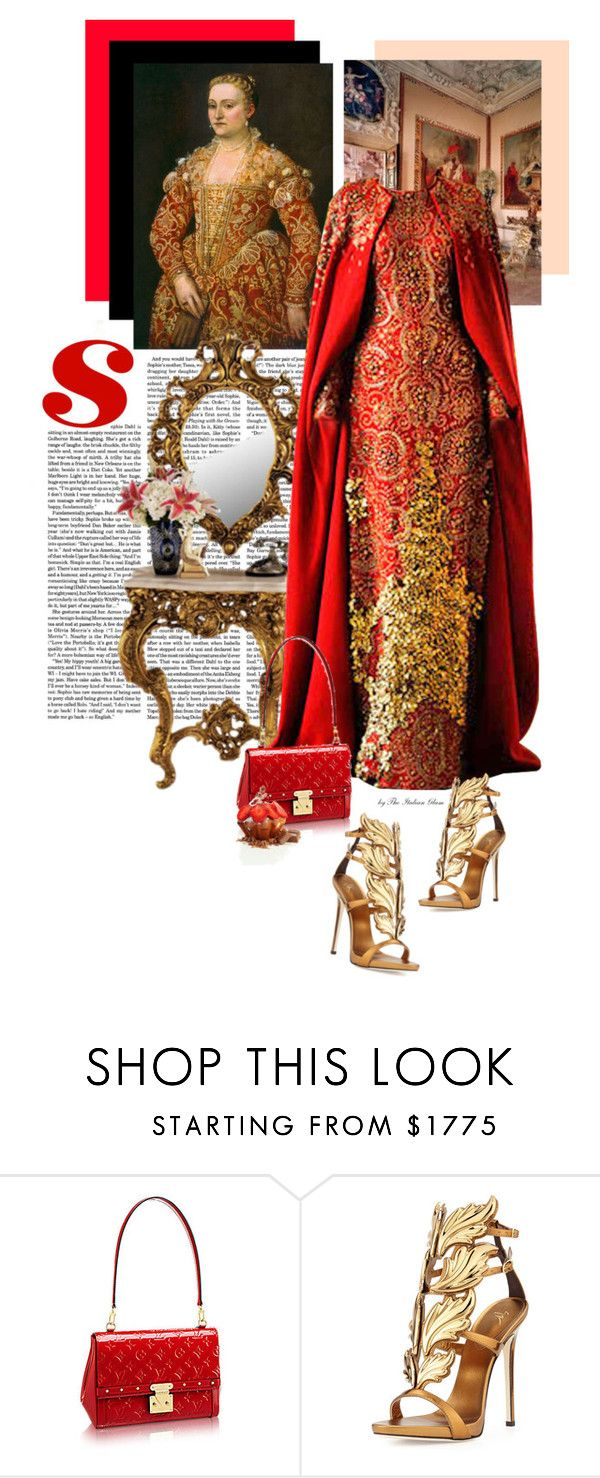 """La veneziana"" by theitalianglam ❤ liked on Polyvore featuring Alexander McQueen and Giuseppe Zanotti"