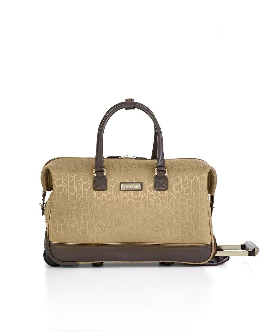 Calvin Klein Nolita 2.0 19 Rolling City Bag - Duffels & Totes - Luggage &  Backpacks - Macy's