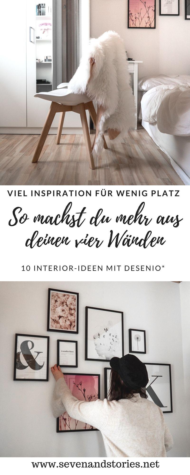 So machst du mehr aus deiner Wohnung mit Desenio #wanddekowohnzimmer