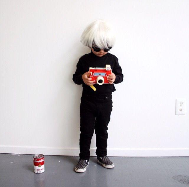 Andy Warhol DIY Halloween | Ideas for holidays | Pinterest ...