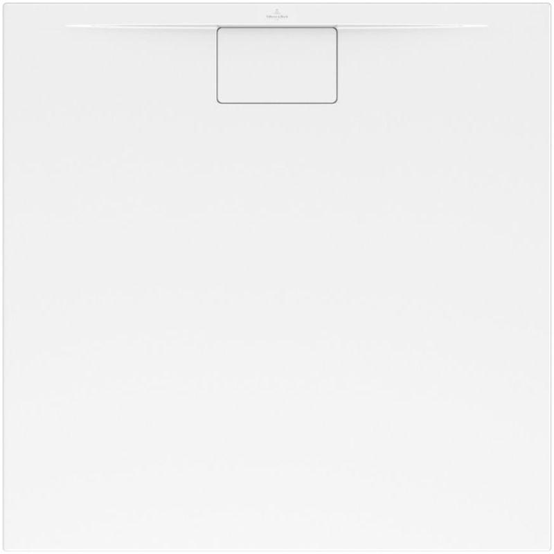 Villeroy et Boch – Receveur Architectura Metalrim, 90 x 75, blanc, adherence elevee / classe B / PN18, 4,8 – UDA9075ARA248V-01