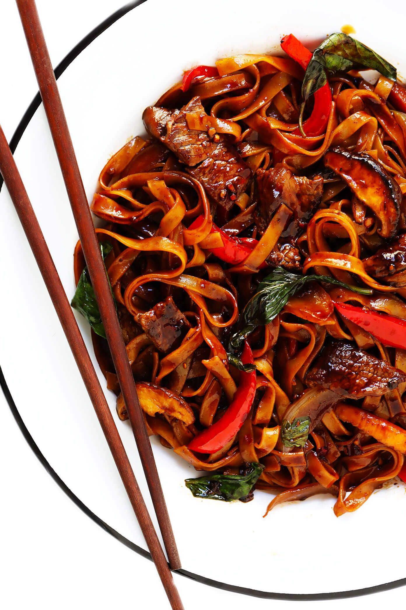 Photo of Thai Basil Beef Noodle Stir-Fry | Gimme Some Oven