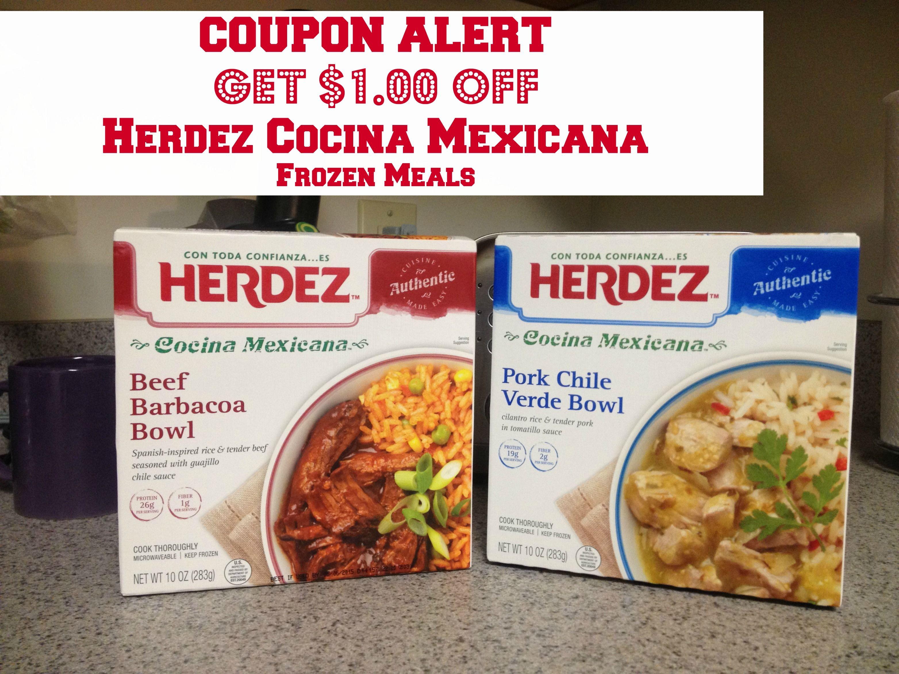 Herdez Cocina Mexicana Frozen Meals - COUPON #shop #HerdezFrozenBowls -