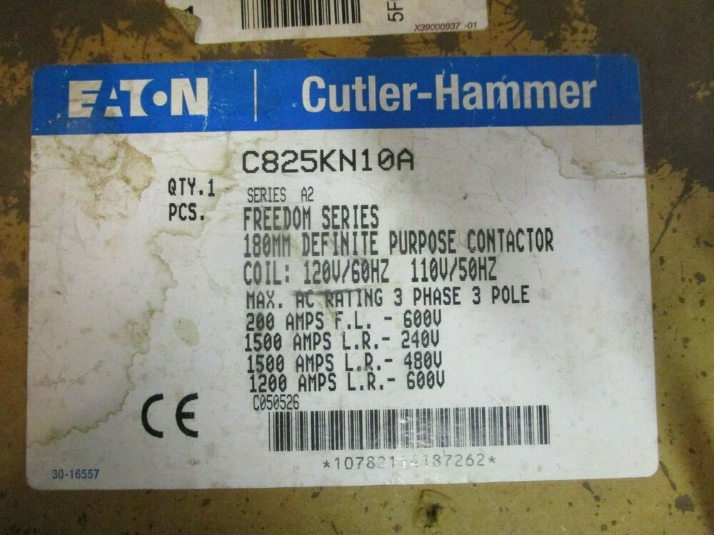 Ebay Sponsored Cutler Hammer C825kn10 200 Amp 3 Pole Contactor New Ebay Things To Sell Electrical Supplies