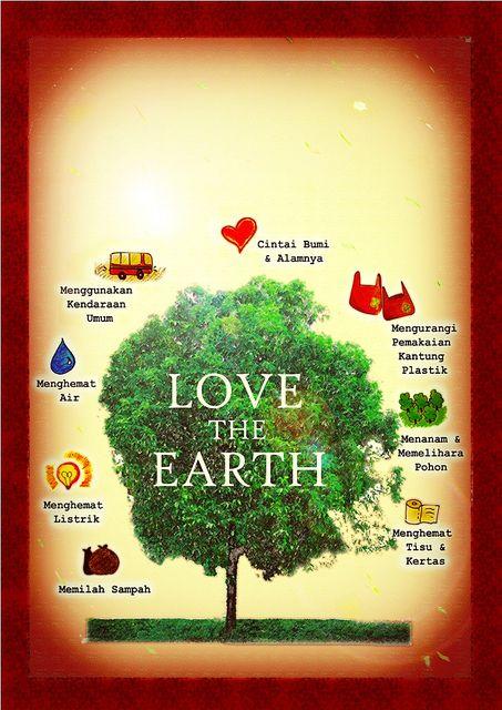 Contoh Desain Poster Lingkungan Paling Menarik Poster