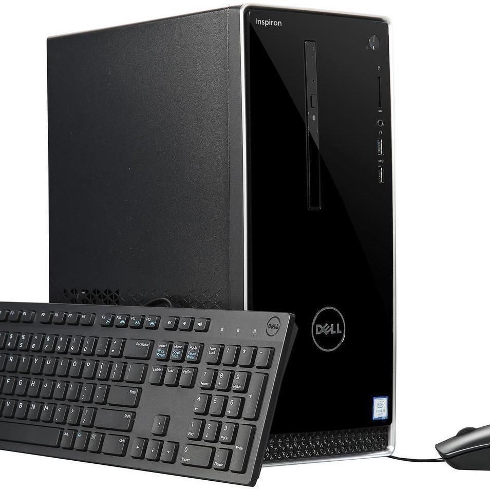 Dell 3670 (3000 Series) Inspiron Desktop  Stay connected to